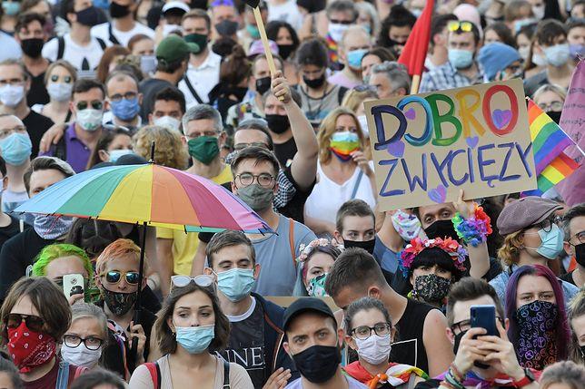 Protesty po zatrzymaniu Margot w całej Polsce