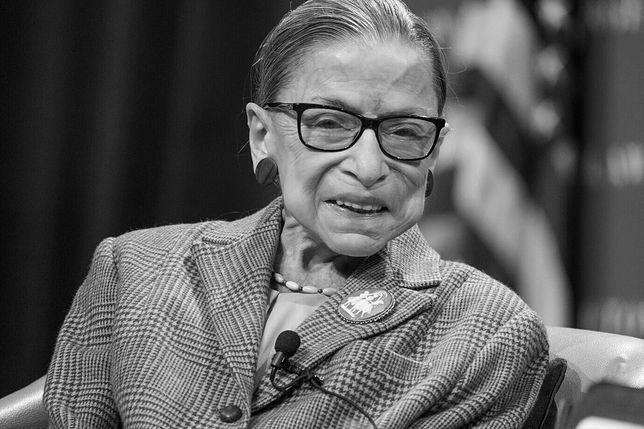 Ruth Bader Ginsburg nie żyje. Ikona amerykańskiego sądownictwa miała 87 lat