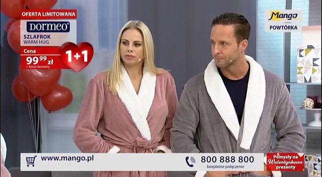 Magda Modra z mężem to jedni z wielu celebrytów promujących produkty Mango