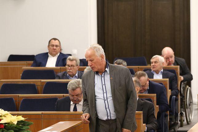 Senatorowie odpytywali prezydenckich ministrów o KRS i SN