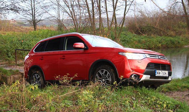 Mitsubishi Outlander: odświeżenie rodzinnego SUV-a