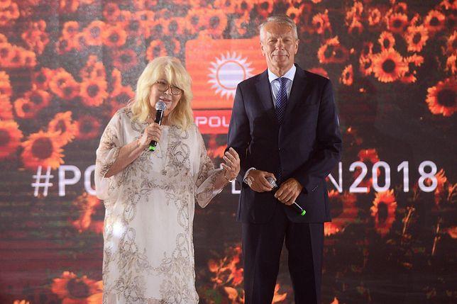 Nina Terentiew zaliczyła wpadkę na prezentacji ramówki Polsatu. Wybrnęła z tego idealnie