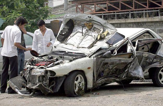 Tajlandia zajmuje drugie miejsce na światowej liście liczby ofiar wypadków