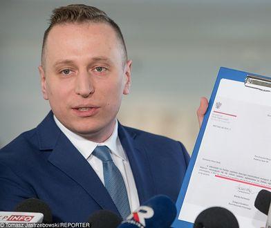 Brejza chce ukarania Kaczyńskiego. Złożył zażalenie na decyzję policji