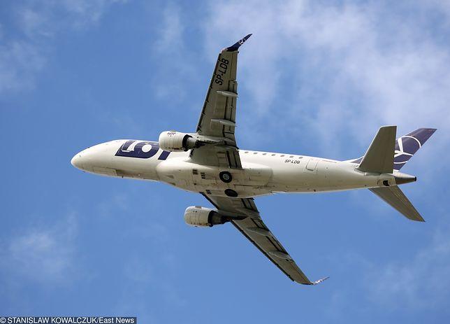 Samolot PLL LOT znów zanotował spóźnienie