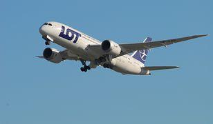 Dreamliner LOT-u ma nawet 90-proc. obłożenie w latach za Atlantyk.