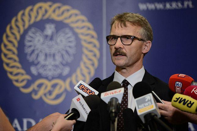 Przewodniczący KRS Leszek Mazur jest krytyczny wobec sposobu wprowadzania zmian w Kodeksie karnym