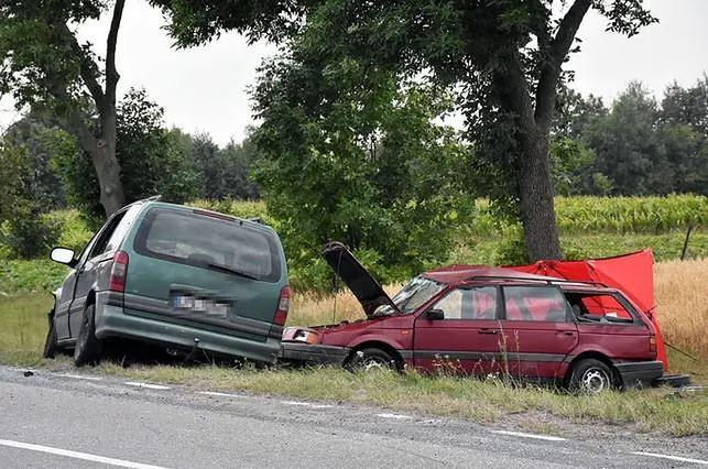 Wypadek w miejscowości Horodyszcze