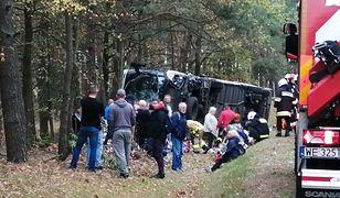 W wypadku pod Ostrołęką zginął policjant i jego żona