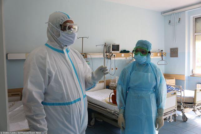 Koronawirus w szpitalu