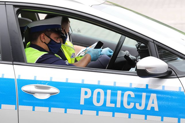 Warszawa. Zatrzymanie pijanego kierowcy
