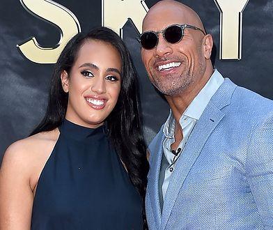 Córka Dwayne'a Johnsona zostanie gwiazdą wrestlingu? Podpisała kontrakt z WWE
