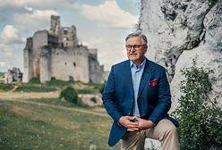 """Byłam na placu budowy zamku. """"Serce Polski w dalszym ciągu tutaj bije"""""""