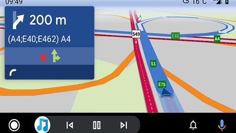 AutoMapa w Android Auto. Beta już jest, ale do celu jeszcze długa droga
