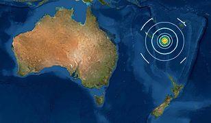 Australia. Dwa silne wstrząsy. Ostrzeżenie przed tsunami