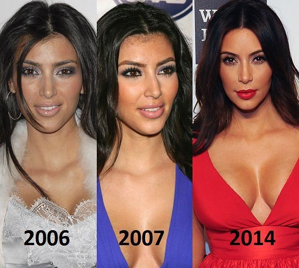 Kim bardzo się zmieniła
