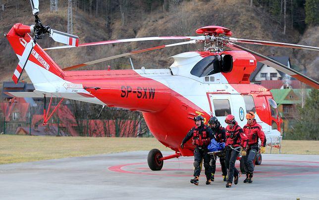 Dwie akcje ratowników w Tatrach. Ściągali turystów, którzy utknęli w górach