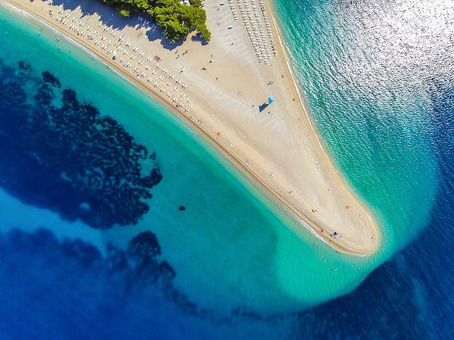 Plaża Zlatni Rat należy do najsłynniejszych nie tylko w Chorwacji, ale i na świecie