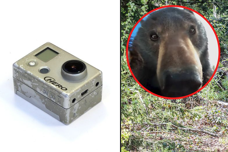 Znalazł zgubione GoPro. Sprawdził, co jest na dysku. Zamarł