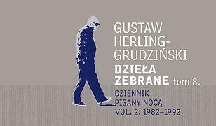 Dzieła zebrane tom 8. Dziennik pisany nocą vol. 2. 1982-1992
