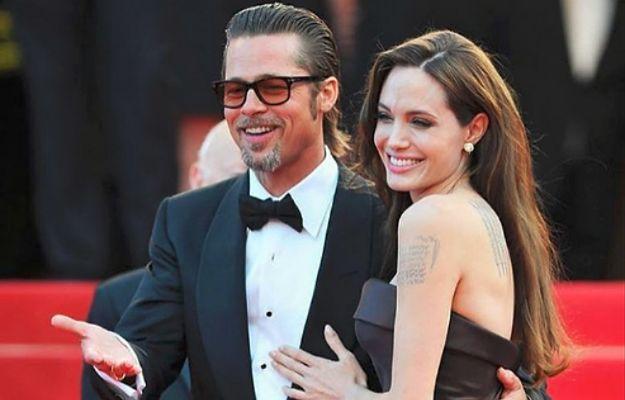 Jolie tłumaczy czemu rozstała się z Pittem. Jednym słowem komentuje jego wywiad