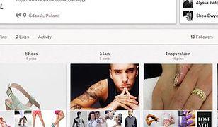 Kobieta.wp.pl ma swój profil na Pinterest.com