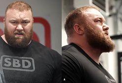 """Hafthor Bjornsson czyli Góra z """"Gry o Tron"""" pobił rekord w martwym ciągu!"""