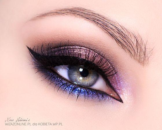 Smoky eyes do każdego koloru tęczówki