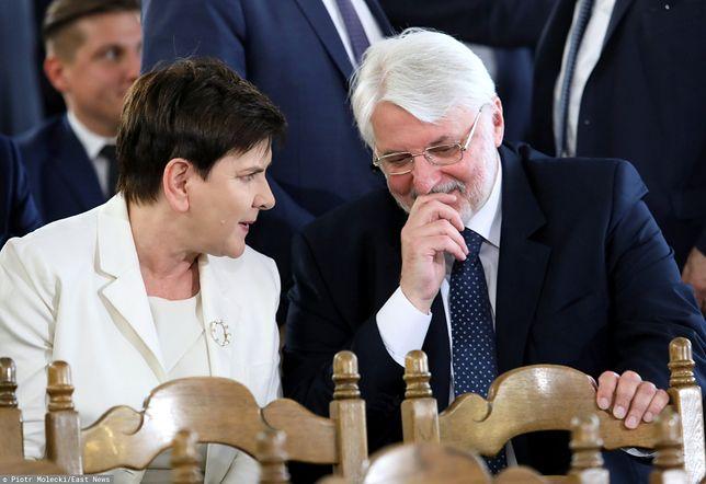 Beata Szydło i Witold Waszczykowski.
