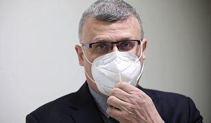 Zamieszanie wokół dr. Pawła Grzesiowskiego. Rzecznik Ministerstwa Zdrowia wyjaśnia