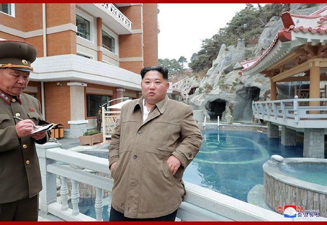 Kim Dzong Un nadzorował ćwiczenia północnokoreańskiej armii