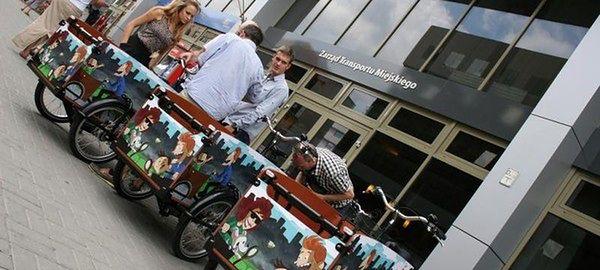 Rusza darmowa wypożyczalnia rowerów transportowych