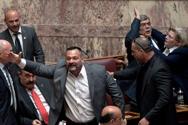 Grecja: przywódca Złotej Jutrzenki oskarża establishment o spisek