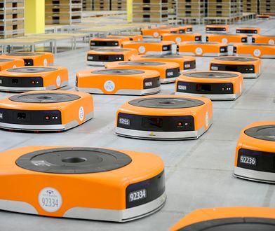 Amazon szuka 1000 pracowników do nowego centrum logistycznego w Polsce. Będzie tam pracować też 3000 tysiące robotów