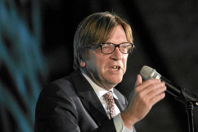 Verhofstadt stanął w obronie Róży Thun, atakowanej przez Ryszarda Czarneckiego