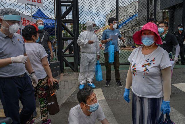 Powrót epidemii koronawirusa w Chinach. Pekin zamyka niektóre dzielnice