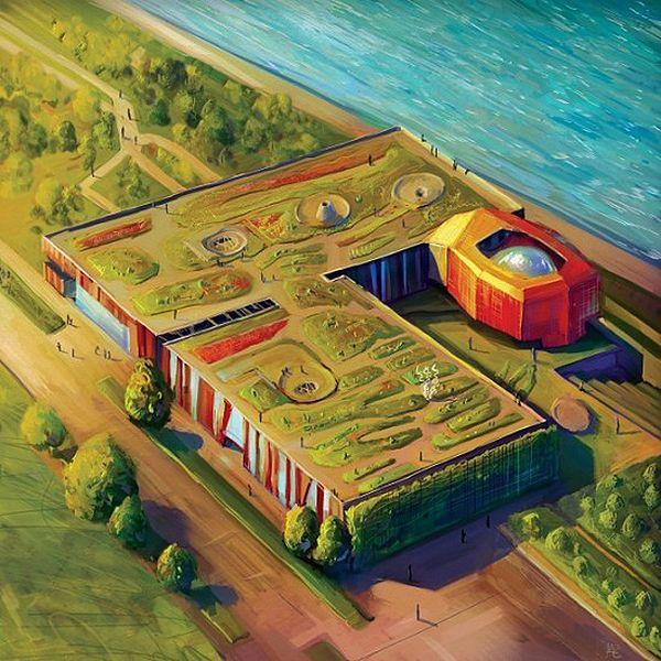Centrum Nauki Kopernik otwiera ogród na dachu