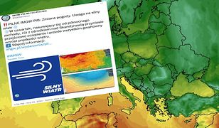 Zmiana pogody. Ostrzeżenia IMGW - nadchodzi wichura