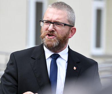 Dyrektor CIS: Grzegorz Braun próbował bezprawnie zmienić swoje oświadczenie majątkowe