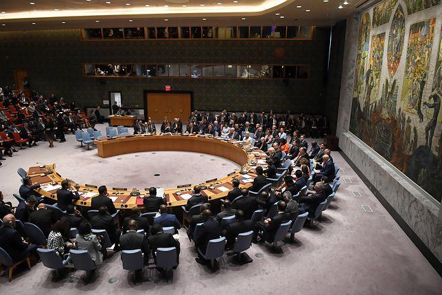 USA domagają się zwołania Rady Bezpieczeństwa ONZ ws. Wenezueli