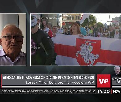 Białoruś. Aleksander Łukaszenka zaprzysiężony na prezydenta. Leszek Miller nie może darować UE braku sankcji