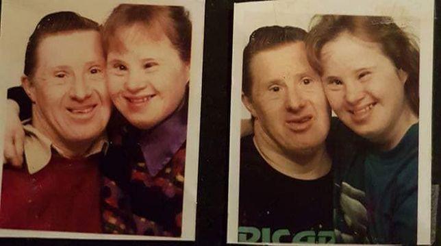 Małżeństwo z zespołem Downa jest razem 24 lata. Bajka Brytyjczyków się kończy