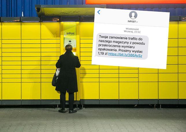 Oszuści podszywają się pod InPost. Wysyłają fałszywe SMS-y