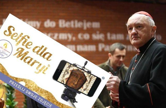 """Kardynał Nycz zrobił """"selfie dla Maryi"""". Jego zdjęcie będzie na Jasnej Górze"""