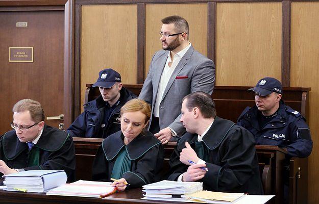 Ryszard Bogucki na sali rozpraw 30 stycznia 2017 r.