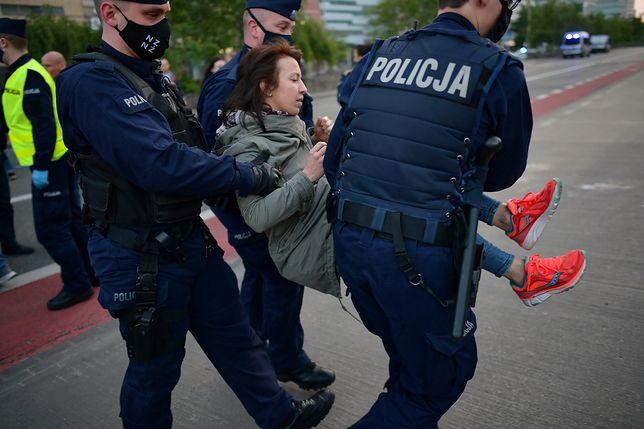 Mariusz Kamiński  w sprawie zajść na strajku przedsiębiorców w Warszawie