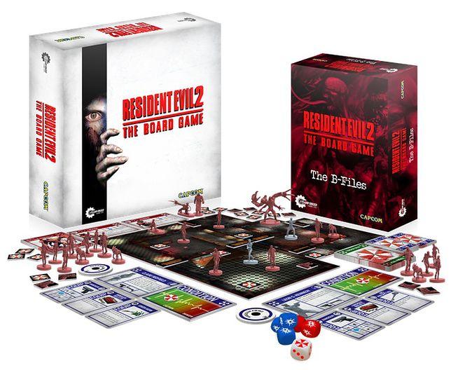 """Planszówka """"Resident Evil 2"""" potrzebowała zaledwie godziny na sfinansowanie"""