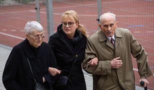 Teresa i Ryszard Adamowicz z synową Magdaleną