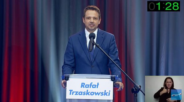 Rafał Trzaskowski zorganizował Arenę Prezydencką, na której odpowiadał na pytania dziennikarzy