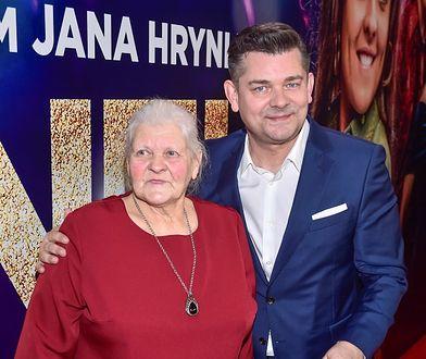 Zenek Martyniuk z mamą Teresą
